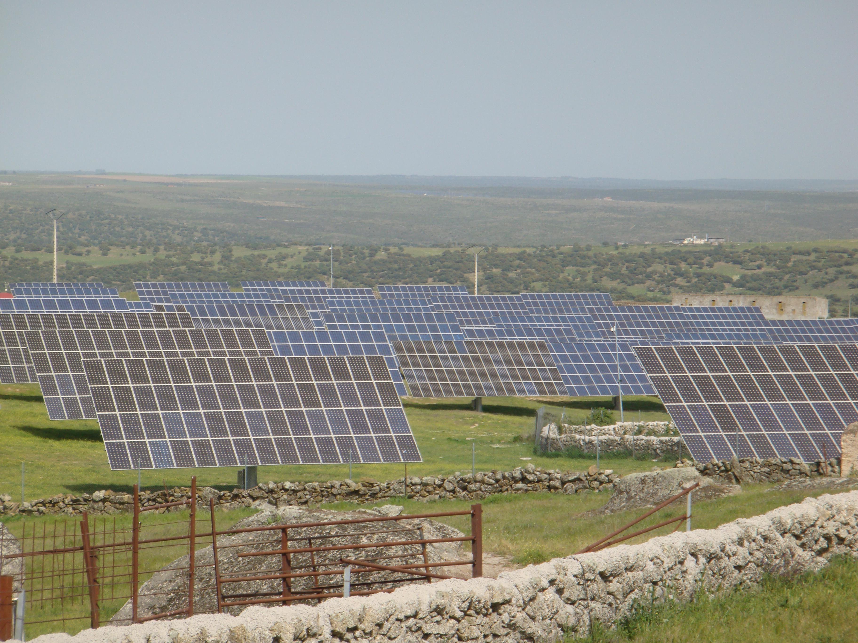 Un intento de robo frena de nuevo la producción de la planta solar de la finca 'Los Maderos'